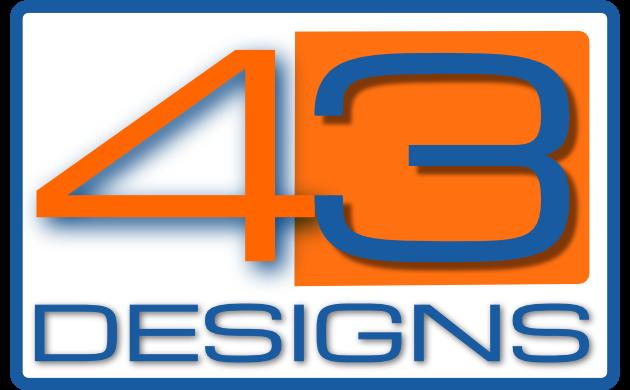43 designs logo